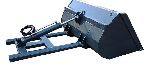 benna per muletto con attacco su palette, benna idraulica per muletto e carrello elevatore
